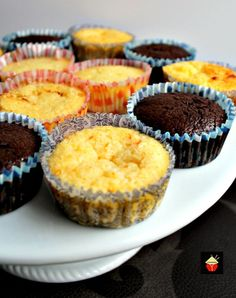 Mini Impossible Pies! Recipe for 3 different flavors using only 1 batter. Great for parties and always so popular! | Lovefoodies.com
