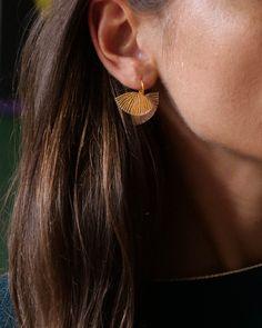 EBISU, boucles d'oreilles – Ciléa Drop Earrings, Web Design, France, Jewelry, Hand Made, Ears, Fantasy, Boucle D'oreille, Locs