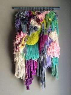 MADE TO ORDER - Woven wall hanging / Little treasures // Handwoven Tapestry Weaving Fiber Art Textile Wall Art Home Decor Jujujust Weaving Wall Hanging, Weaving Art, Loom Weaving, Hand Weaving, Wall Hangings, Tapestry Weaving, Wall Tapestry, Textile Art, Textile Design