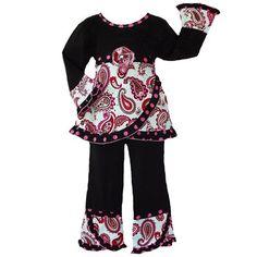 New Girls AnnLoren Boutique Paisley & Polka Dots « Clothing Impulse