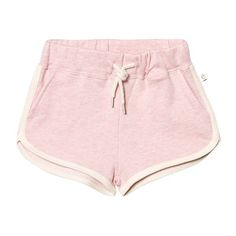 Saga Sweat Shorts Pink Dazzle (805 UYU) ❤ liked on Polyvore featuring shorts and bottoms