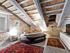 Moderner Landhausstil in diesem Schlafzimmer von Opera s.r.l.. Welche Stilrichtung gefällt euch am besten? #landhausstil #einrichtungsstile #homify
