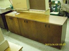 For Sale on LushPad -Mid-Century Modern Exotic Wood Buffet Credenza