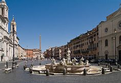 Rome's Spectacular Piazzas with Amazing Churches and Sumptuous Fountains