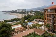 Espectacular vista desde la habitación del #Hotel a la playa de #Benicassim
