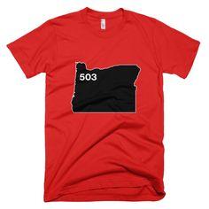 Oregon / 503 / Tee Shirt