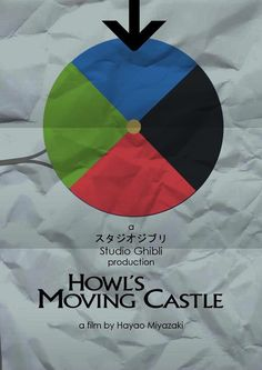 Howl's Moving Castle - Minimalist Posters for Hayao Miyazaki Movies