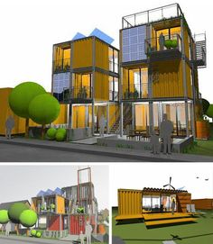 shipping container homes | Shipping Container Architecture