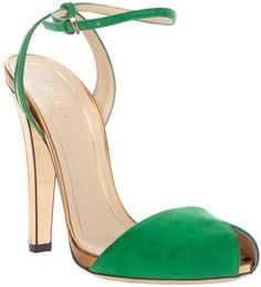 Emerald green Gucci - gorgeous.
