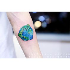 Earth as a Rubix cube