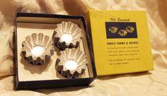 Ebba's Old Swedish Sandbakelser Desserts Molds 30 Aluminum Forms