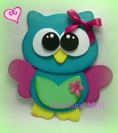 Owl Crafts, Diy And Crafts, Crafts For Kids, Arts And Crafts, Paper Crafts, Owl Templates, Merian, Felt Owls, Baby Shawer