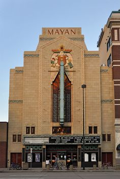 The Mayan Theater in Denver, Colorado.  designed by Montana Fallis, opened in 1930.