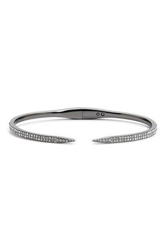 Nadri 'Tattoo' Pavé Hinge Bangle available at #Nordstrom