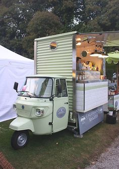 Mobile Bakery. Cernobbio, Italy