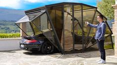 GazeBox Retractable #Garage | DudeIWantThat.com