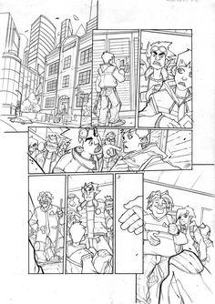 Arcade Boy #1 page 4  Dark Horse Presents #21