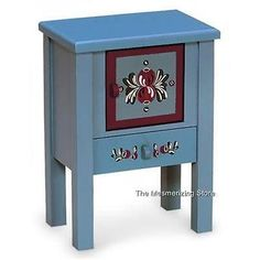 Pleasant-Company-American-Girl-KIRSTENs-SWEDISH-BEDSIDE-WASHSTAND-in-the-Box