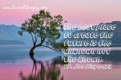 If you stay in the known or familiar you will keep getting the same thing.  For change to happen you have to open up to the unknown.