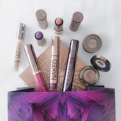 One does not simply go into Urban Decay and not come out with a bag of new make up For All Things Lovely, One Does Not Simply, Urban Decay, Make Up, Bag, Beauty, Purse, Beauty Makeup, Beauty Illustration