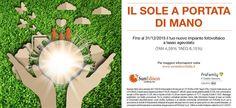 Nuova promozione SunEdison:  #risparmioenergetico alla portata di tutti grazie al #fotovoltaico con #modulisunedison