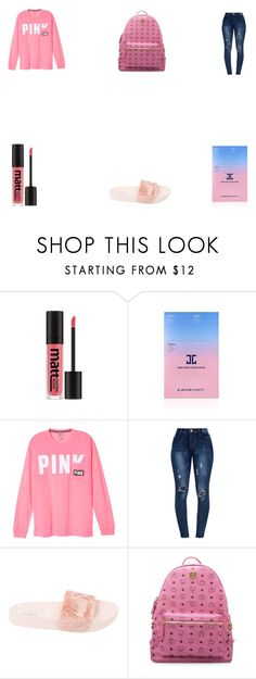 """PINK IS BEAUTIFUL"" by shanda0370 on Polyvore featuring Missha, JayJun, Puma and MCM"