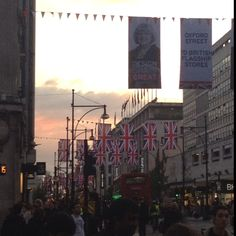 World famous Oxford Street #London