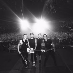 All Time Low at a sold out Wembley Arena in London UK. Never seen four men happier. Thanks for having me with you.