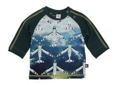 Molo Elton Top: Airplanes #kids #clothing #Yorkshire #boutique #shop  #Molo #Elton #Top: #Airplanes #HerbertandStella