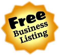 Great blog post by my friend Robert on 21 Sites to get free business listing...