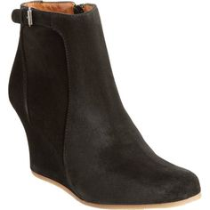 Lanvin Suede Wedge Ankle Boot at Barneys.com