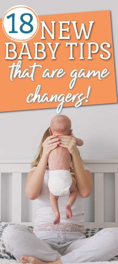 New baby tips that will help you survive the first 8 weeks! 18 game changer tips for life with a newborn that new parents need to know. Baby Up, First Baby, Feeling Stupid, How Are You Feeling, Newborn Baby Tips, Nappy Change, Pajama Day, Changing Station, Bedtime Routine