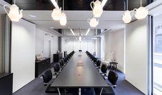 Thiết kế thi công nội thất văn phòng hội trường