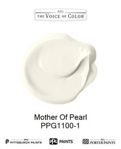 Mother Of Pearl is a part of the Off-Whites collection by PPG Voice of Color®. Browse this paint color and more collections for more paint color inspiration. Get this paint color tinted in PPG PITTSBURGH PAINTS®, PPG PORTER PAINTS® & or PPG PAINTS™ products.