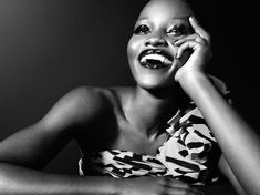 Snapshot: Lupita Nyong'o by Tom Munro for Vogue Italia February 2014 - The Fashion Bomb