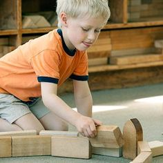 """There are no standards written that cannot be supported through play, especially scaffolded play with blocks."" Wow!"