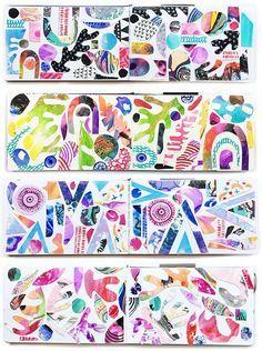alisaburke: a peek inside my collage art journal