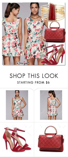 """""""dress"""" by fatimka-becirovic ❤ liked on Polyvore featuring Spring"""
