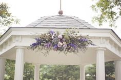 lavender arbor flowers