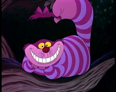 "Cheshire Cat, from ""Alice in Wonderland"" (1951)"
