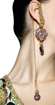 MANISH ARORA FOR AMRAPALI Gold plated Heart of Gold earrings Product Code - AWPQ22ALM Price - $ 476