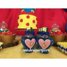 Snow white birthday Pamuk prenses doğum günü. Hediyelik kolonya süslemesi. Rainbowpartyevi