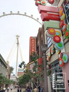 Travel Notes Podcast #1 - Las Vegas - the Linq High Roller area