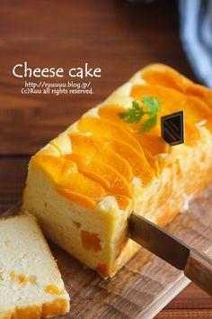 桃缶チーズケーキ Easy Sweets, Homemade Sweets, Sweets Recipes, Baking Recipes, Cake Recipes, Asian Desserts, Mini Desserts, Japanese Cake, Dessert Decoration
