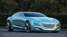 Buick Riviera Concept.  There's something movingly beautiful about flowing rivers, glorious waterfalls, and crashing ocean waves. It's these influences that draw inspiration for the latest concept of the Buick Riviera - a design study offering clues into the brand's future aesthetics.