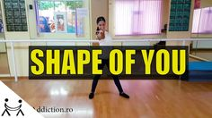 Shape of You Dance Choreography with Adina Group Dance, Dance Choreography, Shape Of You, First Love, Shapes, Youtube, First Crush, Puppy Love, Youtubers