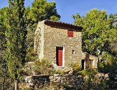 Paul Cézanne's Cabin at the Bibémus Quarries - I want to go here sometime.........