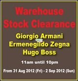 awesome 31 August-2 September 2012: Branded Warehouse Stock Clearance