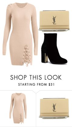 """""""fest"""" by rebecka-gh on Polyvore featuring Yves Saint Laurent"""