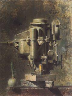 Reserved for Kathleen - Vintage Print - Carburetor - Industrial Still Life…